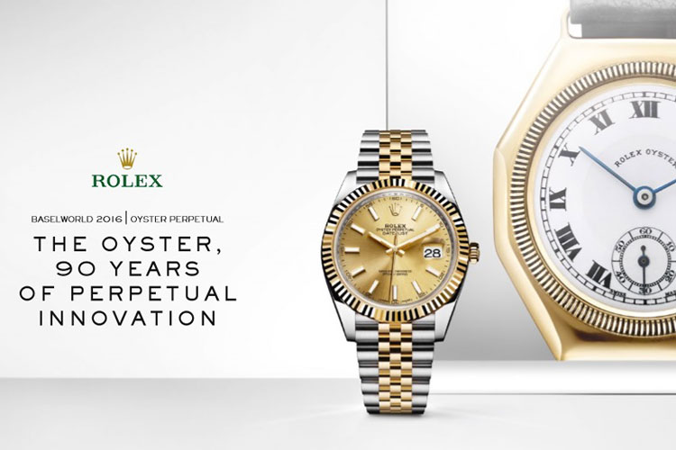L OYSTER by ROLEX 19 set 16 1
